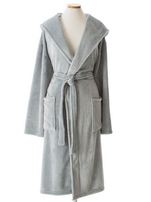Super Soft Fleece Hooded  Robes - Revibe Designs