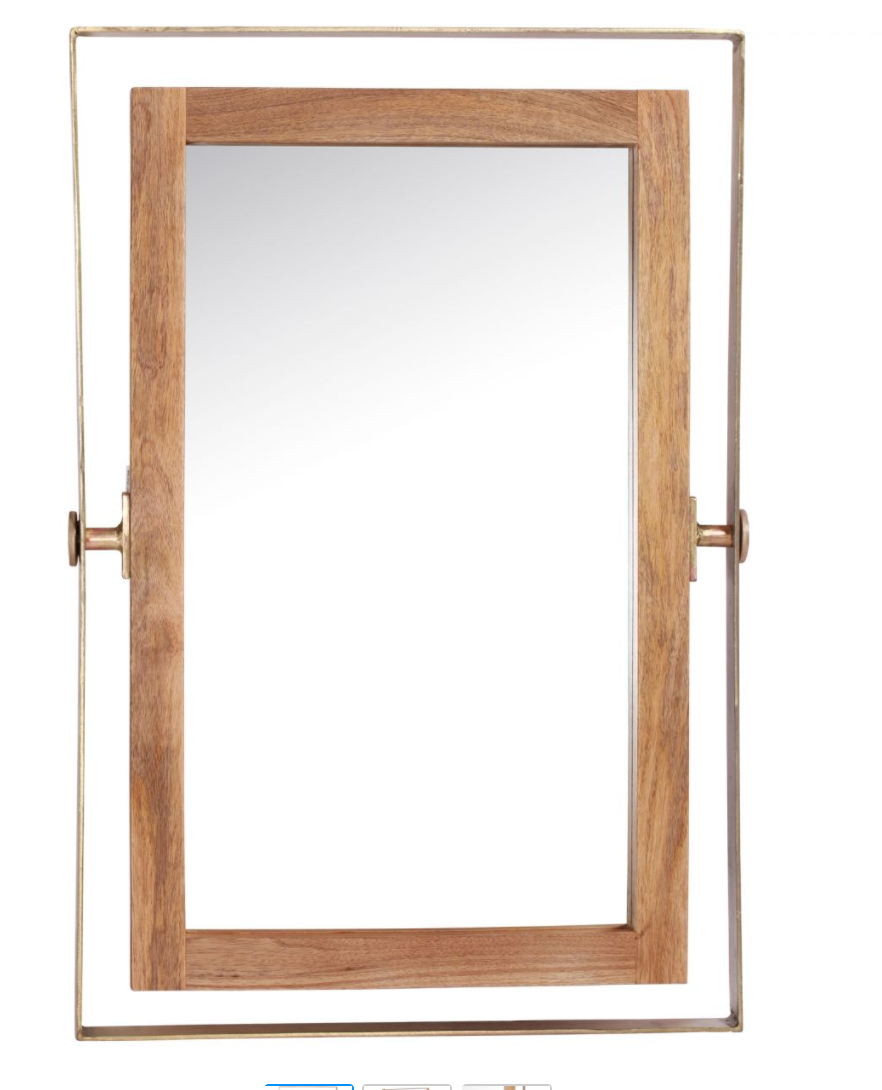 Cresent Mirror - Revibe Designs