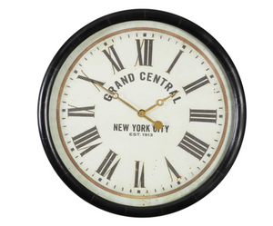 Leonor Grand Central Clock - Revibe Designs