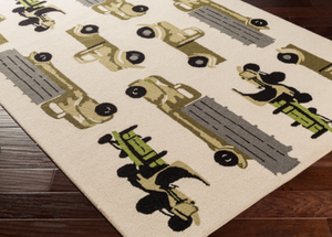 Trucks Rug - Revibe Designs