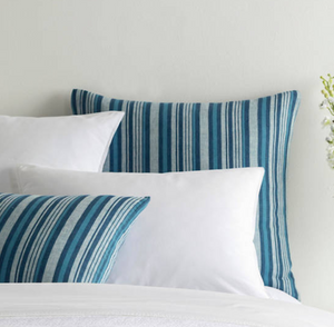 Mediterranean Ticking Stripe Duvet - Revibe Designs
