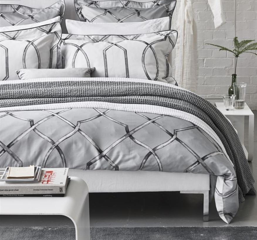 Rabeschi Slate Bedding - Revibe Designs