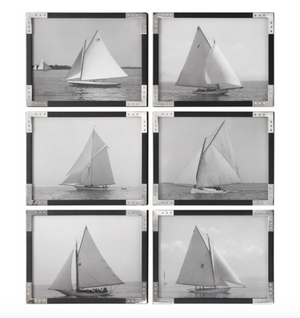 Sailboats Set of 6 - Revibe Designs