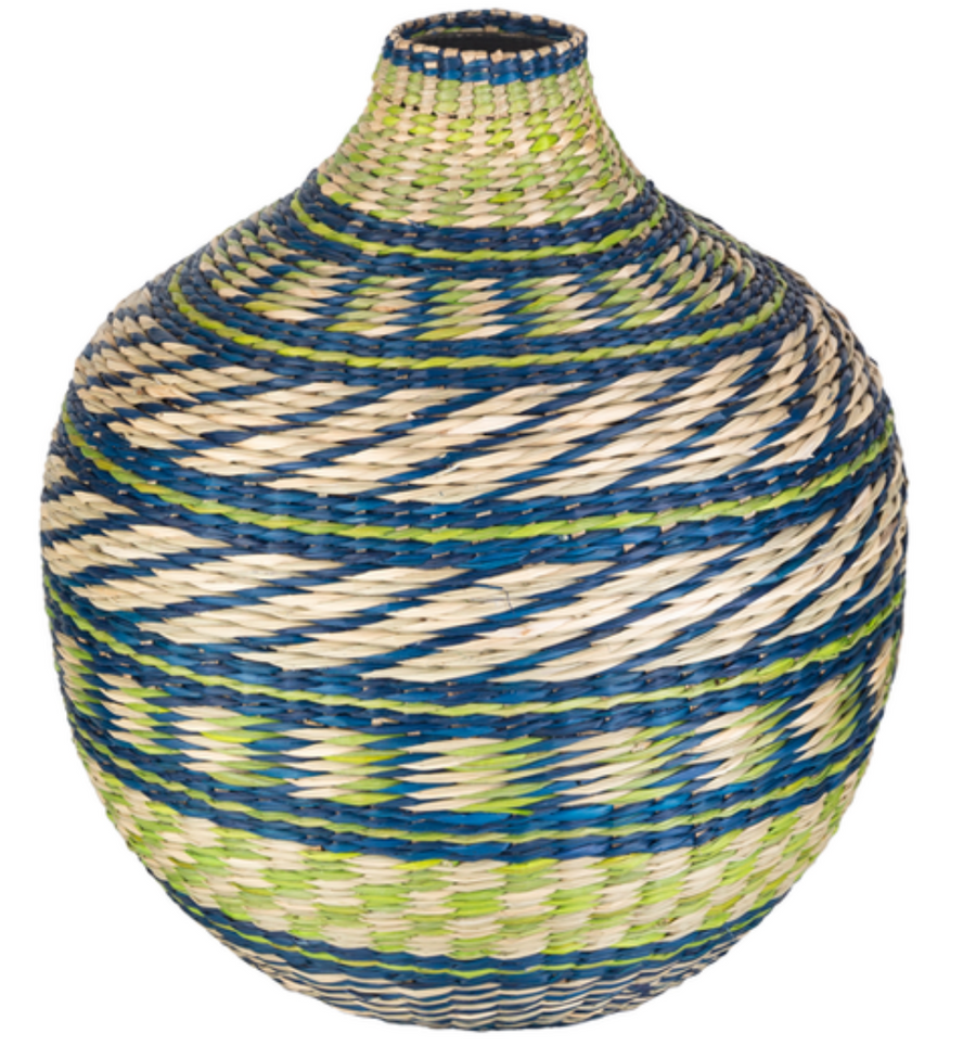 Folly Wicker Vase - Revibe Designs