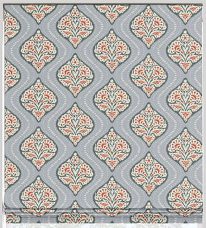 Kavali Flat Roman Shade - Revibe Designs