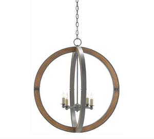 High Bank Orb Chandelier - Revibe Designs