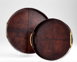 Bryant Leather Tray - Revibe Designs