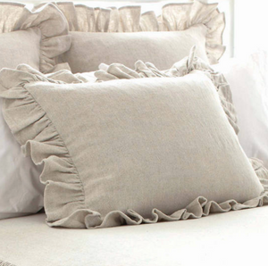Wilton Natural Shams - Revibe Designs