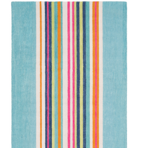 Technicolor Stripe Rug - Revibe Designs