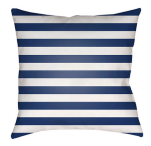 Prepster Stripe Pillow - Revibe Designs