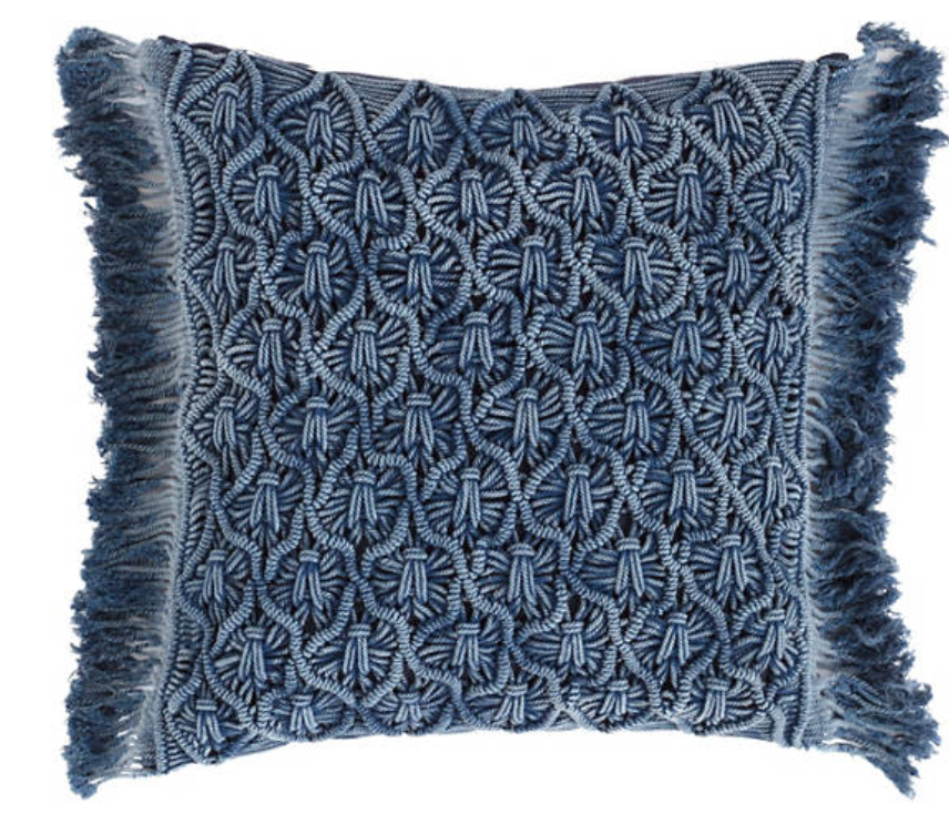 Juno Macrame Pillow - Revibe Designs
