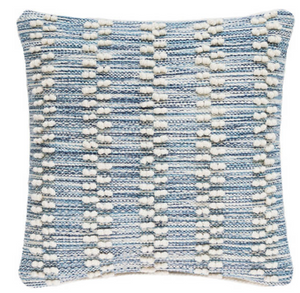 Hobnail Stripe indoor/Outdoor Pillow - Revibe Designs