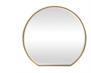 Cabell Gold Mirror - Revibe Designs