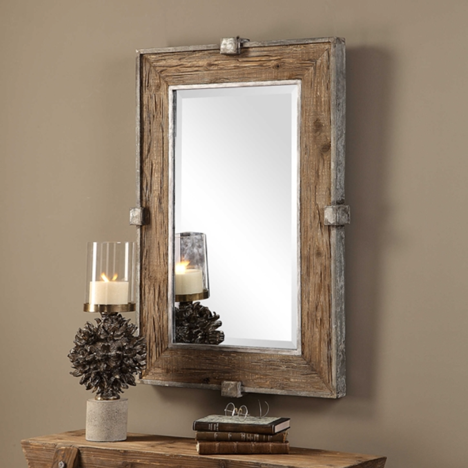 Siringo Weathered Mirror