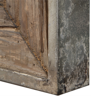 Siringo Weathered Mirror - Revibe Designs