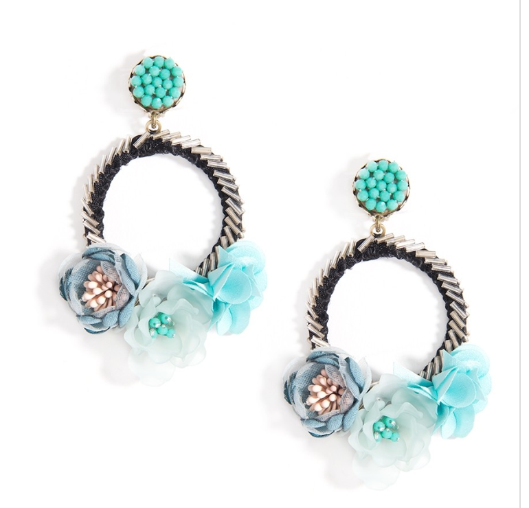 Mixed Floral Earrings