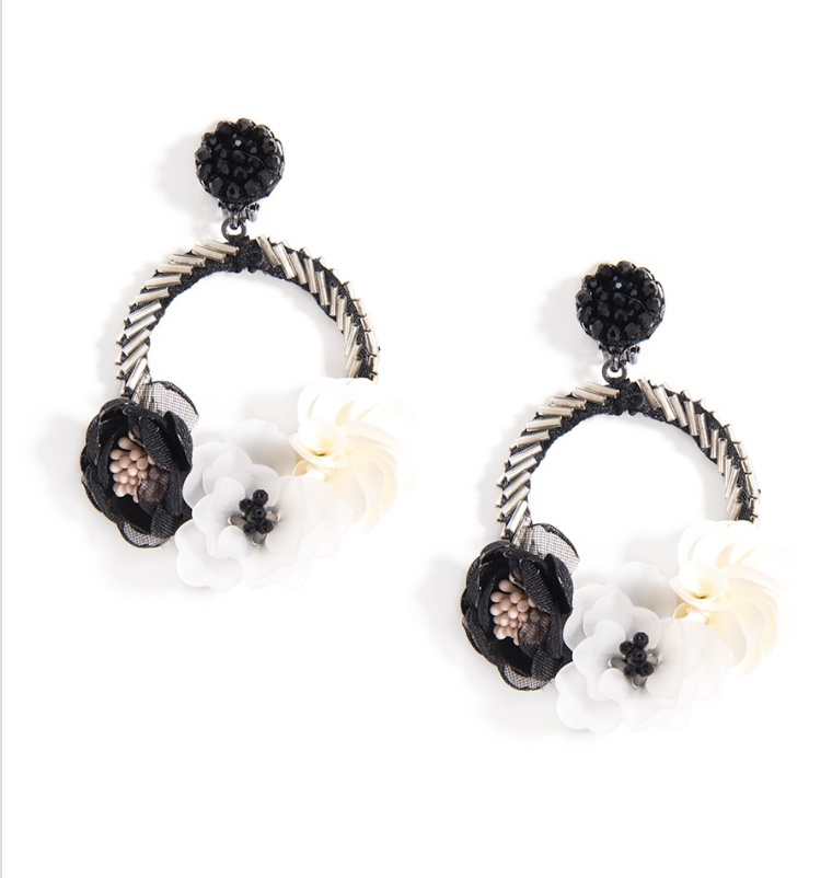 Mixed Floral Earrings - Revibe Designs