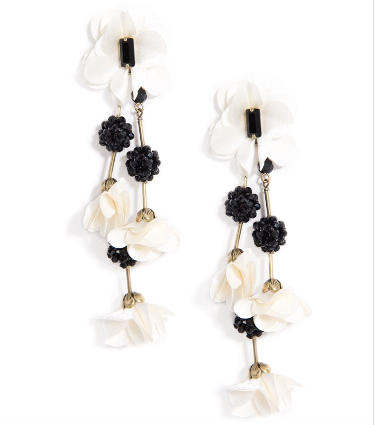 Floral Vine Drop Earrings - Revibe Designs