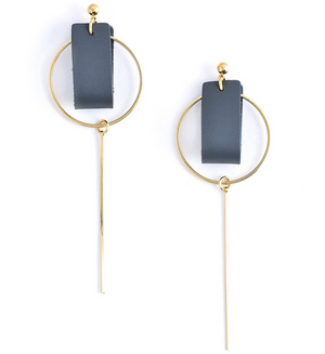 The Bold N' Beautiful Earrings - Revibe Designs