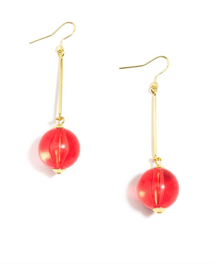 Crystal Clear Earrings - Revibe Designs