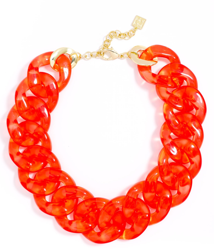 Cleary Linked Collar Necklace - Revibe Designs
