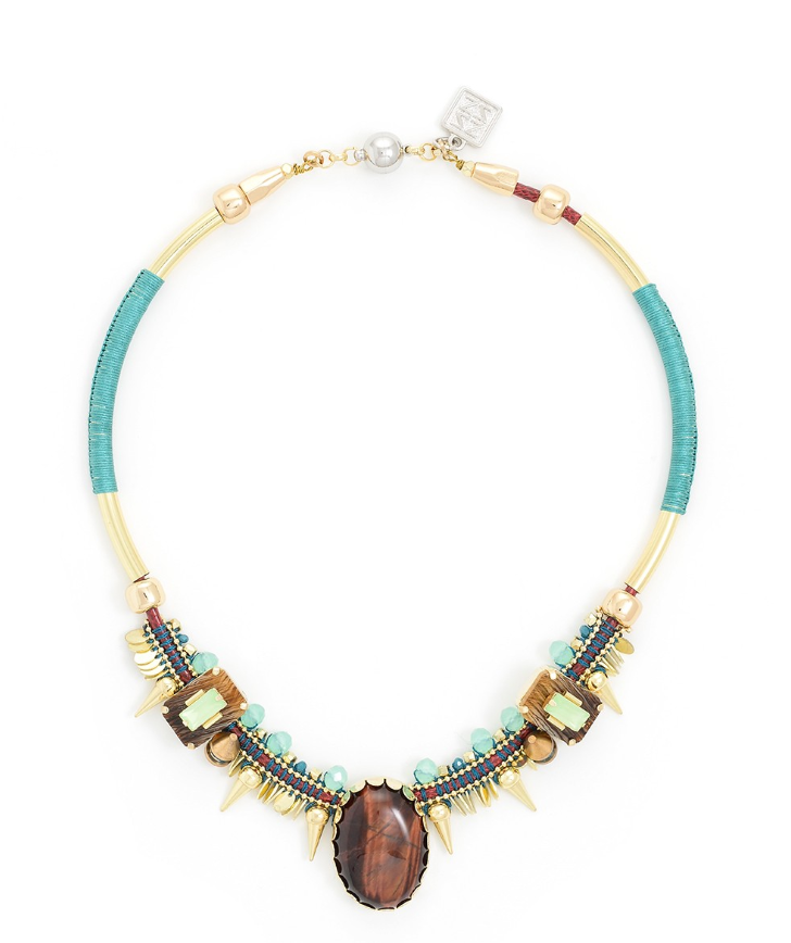 Multi Stone Regions Necklace - Revibe Designs