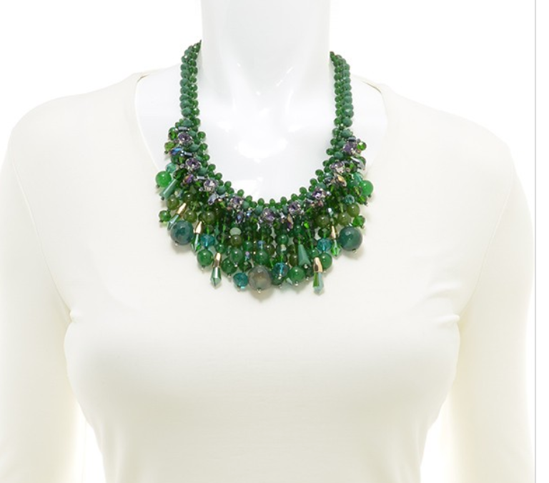 Shagged Handmade Beaded Necklace - Revibe Designs