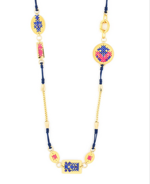 Warrior Princess Long Necklace - Revibe Designs