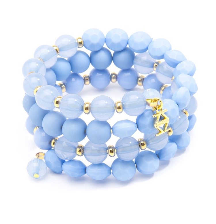 Matte and Glossy Beaded Bracelets - Revibe Designs