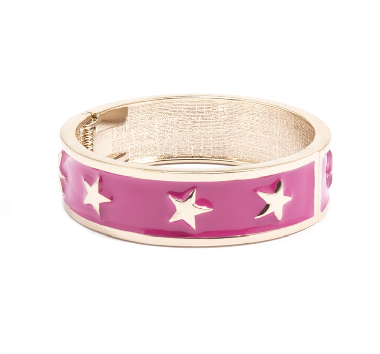 Star Spangled Bangle Bracelet - Revibe Designs