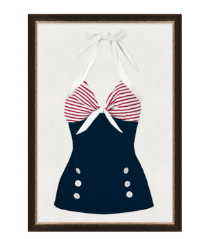 Vintage Swimsuit 8 Art