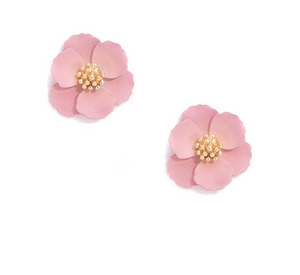 Mini Floral Stud Earrings