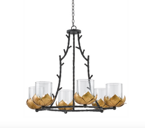 Water-Lily Chandelier - Revibe Designs
