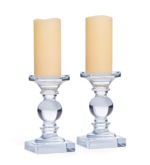 Monroe Candlesticks  Set of 2 - Revibe Designs