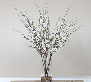 Quince Blossoms Silk Centerpiece - Revibe Designs