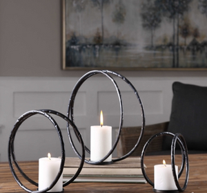 Pina Candle Holders Set of 3 - Revibe Designs