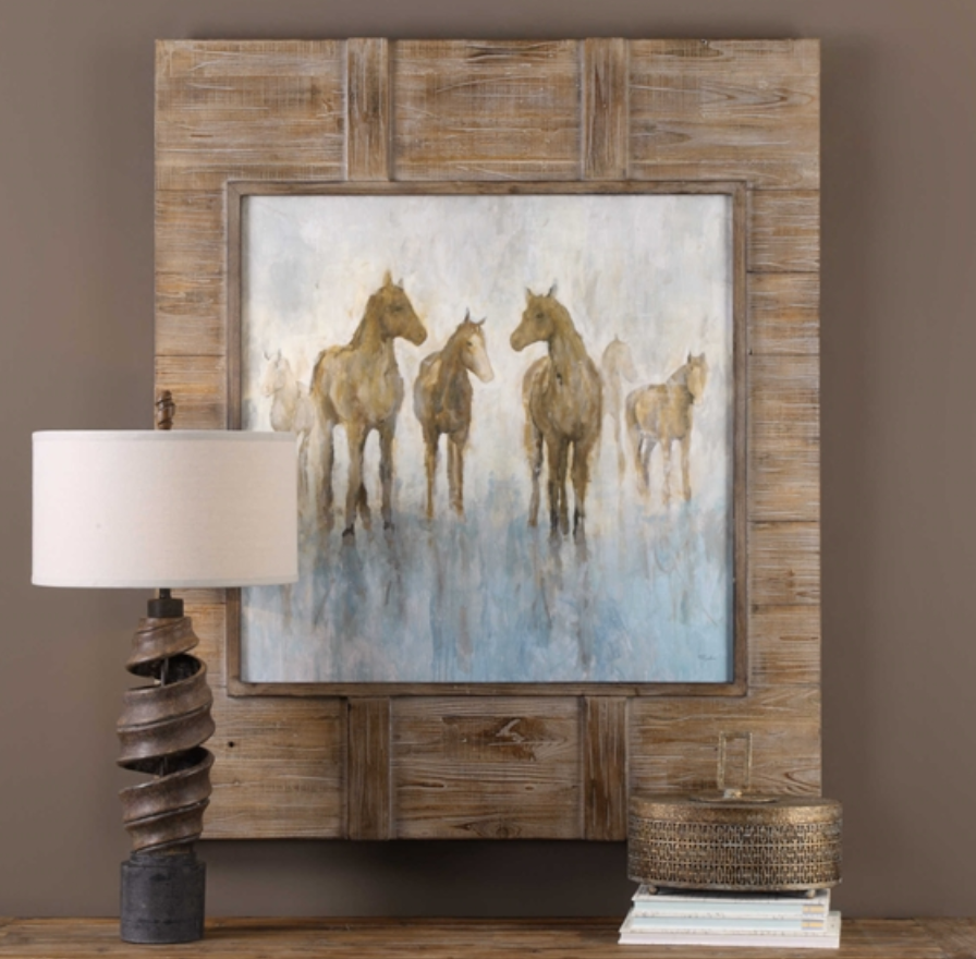 Headed to the Barn Art - Revibe Designs