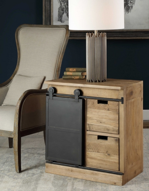 Leandrew End Table - Revibe Designs