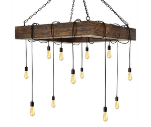 Pennsylvania Station 12 LT. Chandelier - Revibe Designs