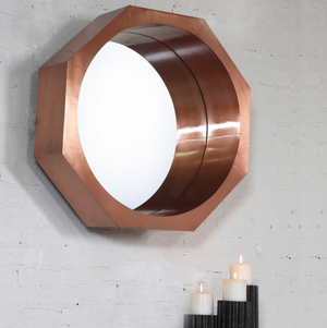 Palamon Round Mirror - Revibe Designs
