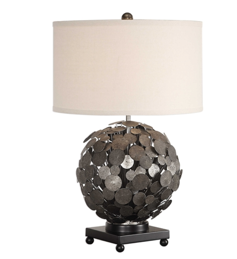 Callisto Steel Disk Lamp - Revibe Designs