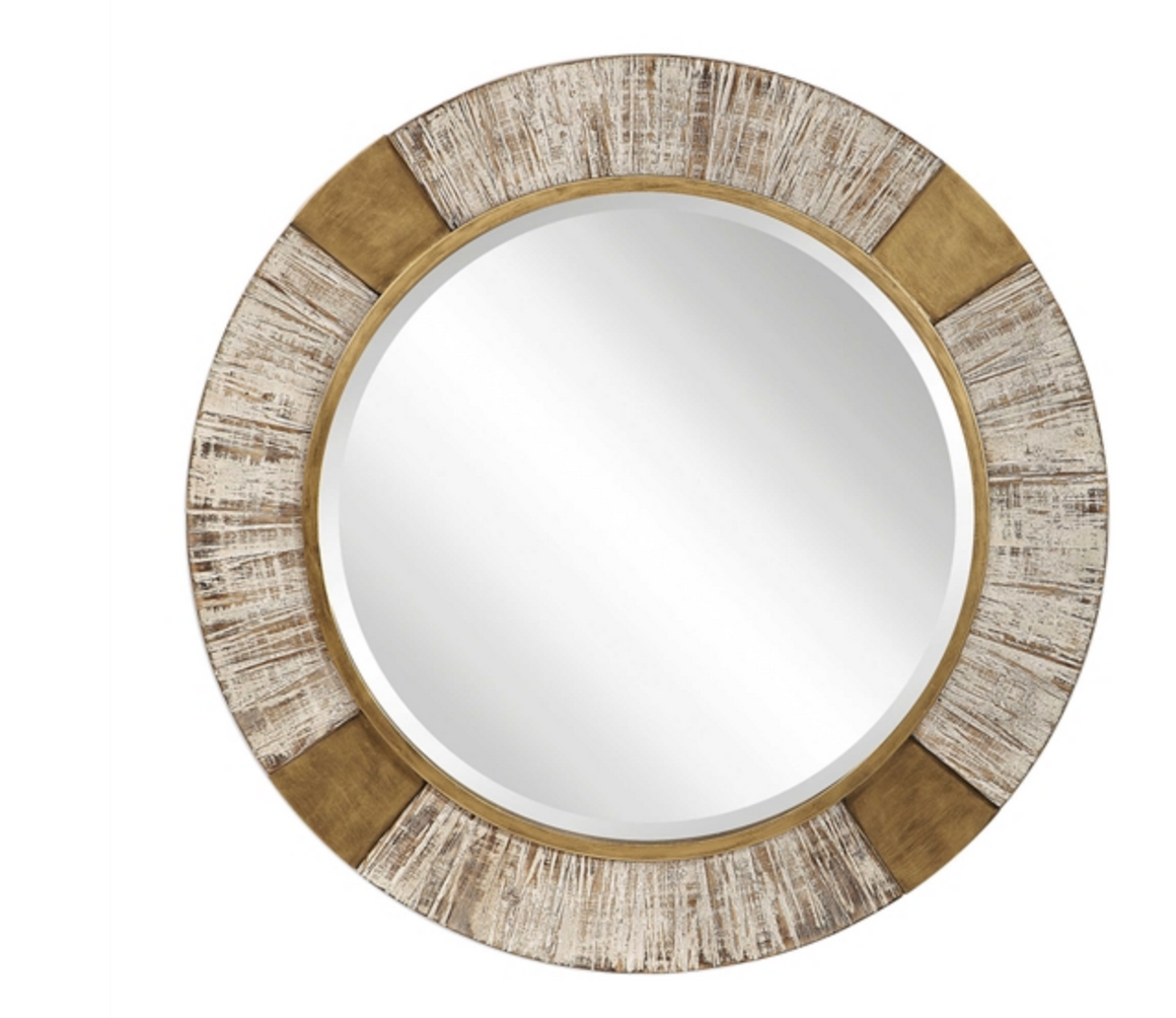 Reuben Round Mirror - Revibe Designs