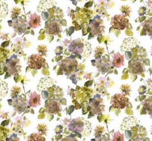Palace Flower Shower Curtain - Revibe Designs