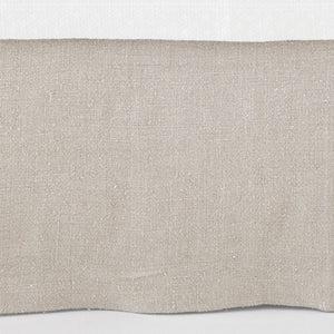 Stone Washed Linen Tailored Bed Skirt - Revibe Designs