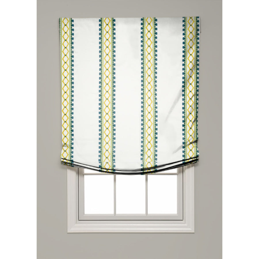 Viva Acapulco Relaxed Roman Shade - Revibe Designs