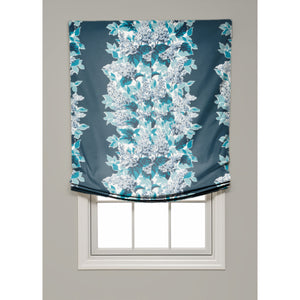 Windy Corner Relaxed Roman Shade - Revibe Designs