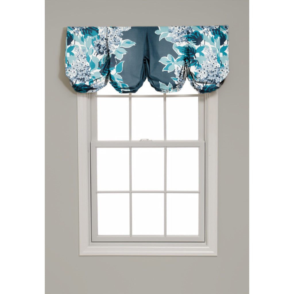 Windy Corner Pleated Balloon Valance