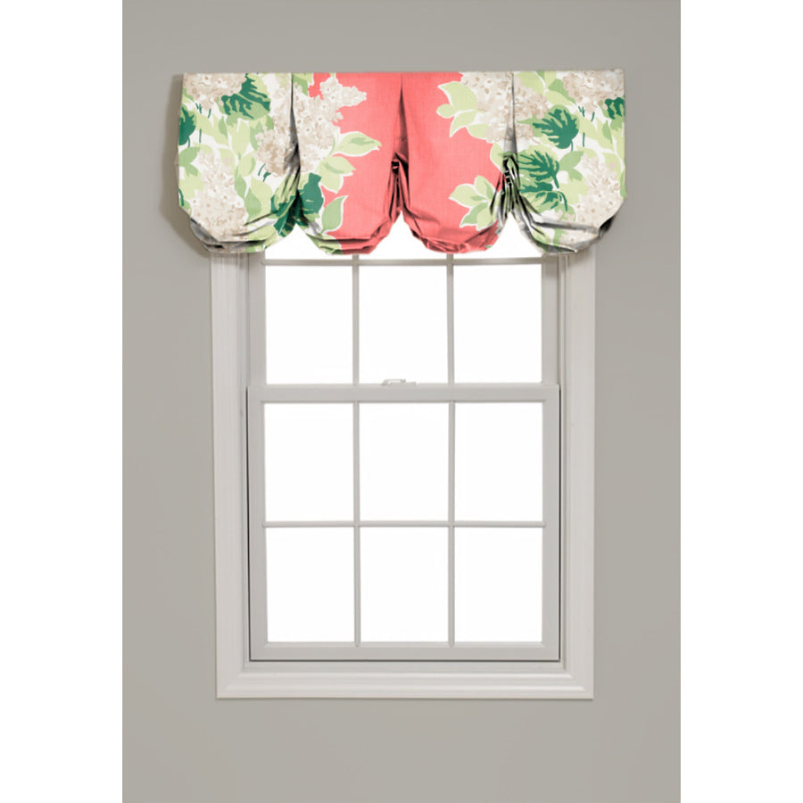 Windy Corner Pleated Balloon Valance - Revibe Designs