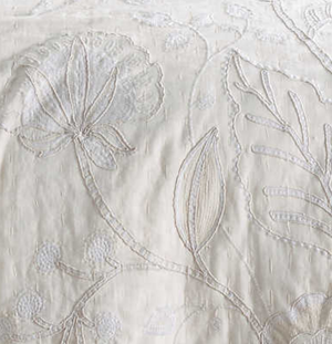 Addison Embroidered Coverlet - Revibe Designs