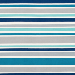 Preppy Stripe  Indoor/Outdoor Rug